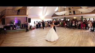 PIERWSZY TANIEC -WALC- MECANO Hijo de la Luna Monika & Jakub Nasze Wspomnienie ślubu 2014