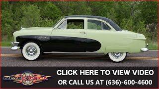 1950 Ford Crestliner For Sale