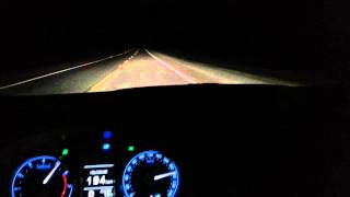 Corolla 2015 a 208 km/h