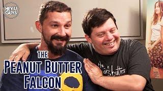 Shia LaBeouf & Zack Gottsagen Interview - The Peanut Butter Falcon