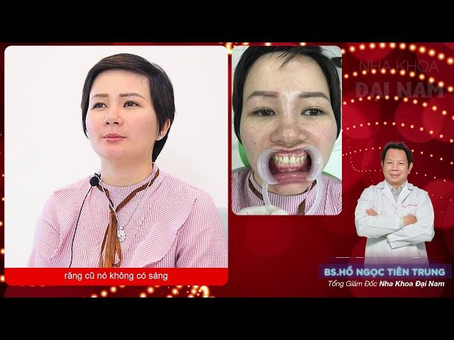 Quyết định làm răng sứ tại nha khoa đại nam