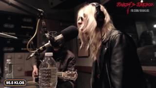The Pretty Reckless perform 'Take Me Down' on Jonesy's Jukebox