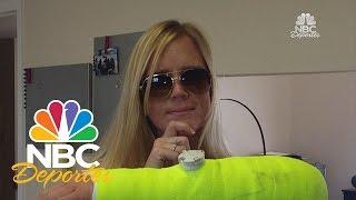 Holly Holm ganó la pelea de su vida con el brazo roto | Top 5 | NBC Deportes