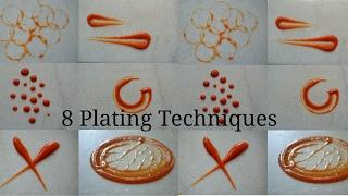 8 simple plating techniques for sauces | CHEF MRUGZIEE