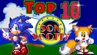 Top 10 Classic Sonic Trilogy Music  - SonScotty width=