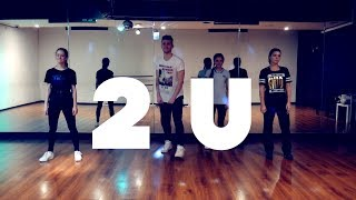 David Guetta ft Justin Bieber - 2U DANCE COVER | Andrew Heart choreography