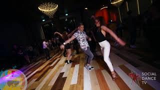 Rafael Barros & Esin - Salsa social dancing at the Eskisehir Dance Festival 2018