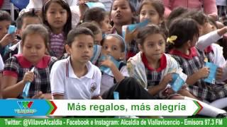 MÁS REGALOS, MÁS ALEGRÍA / VILLAVICENCIO UNIDOS PODEMOS / 15-11-16