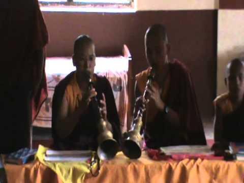 (Video 36) Buddhist monastery of Chunya, Nepal 19-21 July 2010