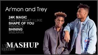 Lyrics:  Armon and Trey - 24K Magic | That's What I Like | Shape of You | Privacy | Shining Mashup