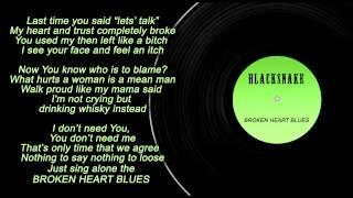 BlackSnake - Broken Heart Blues