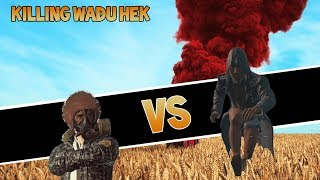 Randomly Finding and Killing Wadu Hek in a Game