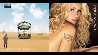 Love You Wherever - DJ Snake vs. Shakira (Mashup)