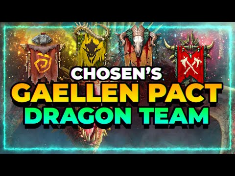 My Best Gaellen Pact Team! Dragon Tourney! | RAID Shadow Legends