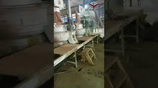 Client wood pellet production line