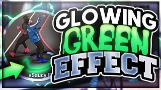 NBA2K17 - HOW TO DO THE GLOWING GREENLIGHT EFFECT (PHOTOSHOP GFX TUTORIAL #1)