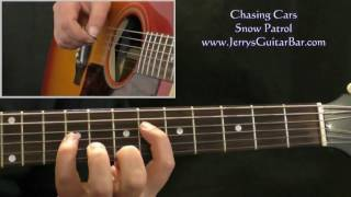 How To Play Snow Patrol Chasing Cars (1st section only)