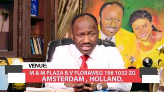"""HELP FROM ABOVE'17 """"AMSTERDAM, HOLLAND"""" with APOSTLE JOHNSON SULEMAN"""