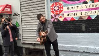 Colin Meloy of the Decemberists - Everyday Is Like Sunday (Morrissey Cover)