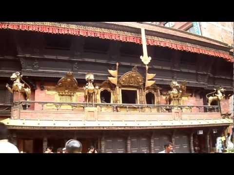 Akash Bhairav at Kathmandu