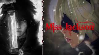Nightcore  - miss Jackson \ Dark horse
