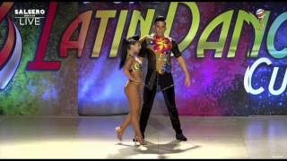 Gabriel Salgado y Leticia Beltrán Campeones Mundiales Bachata World Latín Dance Cup 2016
