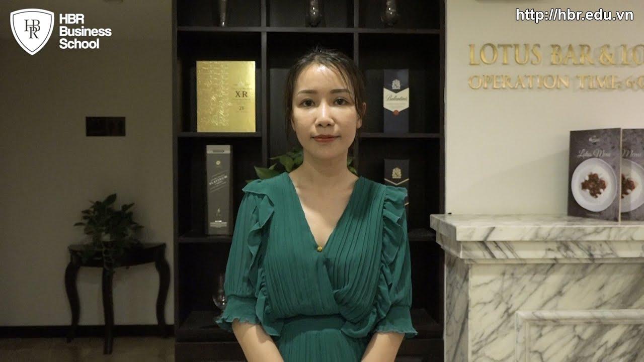 Cảm nhận học viên trường doanh nhân HBR - Chị Đào Thị Hương CEO Huong Beauty & Spa
