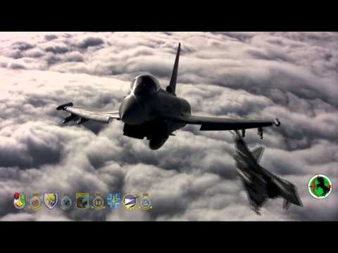 Eurofighter Typhoon busy protecting the skies 24/7