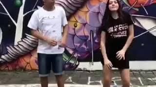 Casal dançando fun pasinho (Status para WhatsApp)