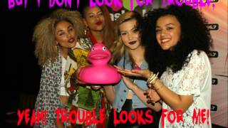 Neon Jungle - Trouble [Lyric video]