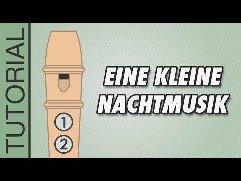 Comment jouer Une petite musique de nuit de Mozart à la flûte à bec