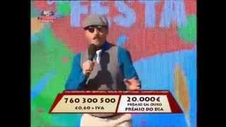 "ZÉ do PIPO - ""No baile das velhas"" na SIC - Feira Popular, Lisboa - Contacto para Festas"