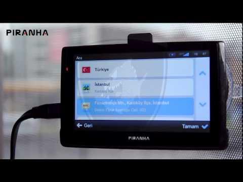 Piranha noTraffic Navigasyon Cihazı ile Adres Arama Nasıl Yapılır?
