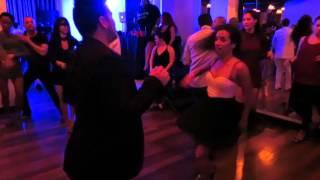 Manuel & Mariana (Salsa Social) at the Baila Con Gusto Night on January 1st 2016