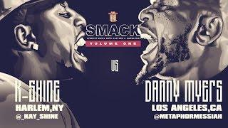 K-SHINE VS DANNY MYERS SMACK/ URL RAP BATTLE | URLTV width=