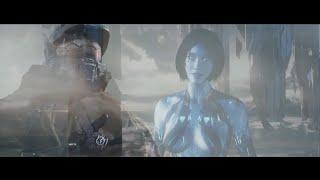 Linkin Park - Powerless   HALO   Music Video   John 117 - Cortana   Fan Made   720p HD