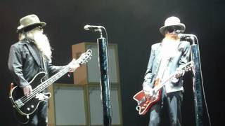 ZZ TOP - Rock me Baby (B.B. King Cover Live in Chile 2010)