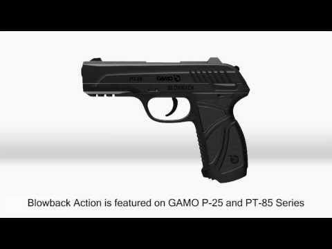 Video: Gamo Blowback Pistol | Pyramyd Air