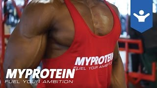 Bicep & Tricep Arm Workout Motivation with Obi Vincent by Myprotein