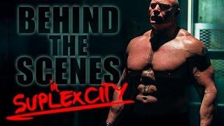 WWE 2K17: Payl Heyman y Brock Lesnar tras las cámaras