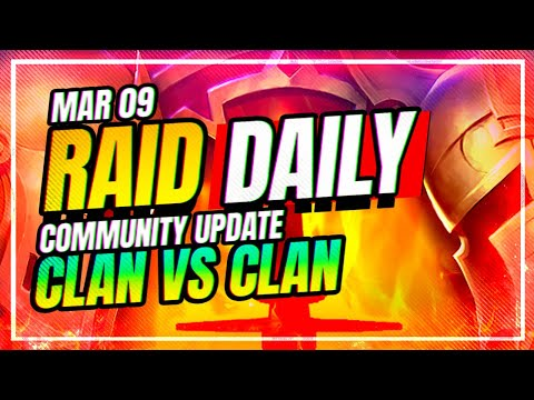 CLAN VS CLAN CONFIRMED | RAID Shadow Legends