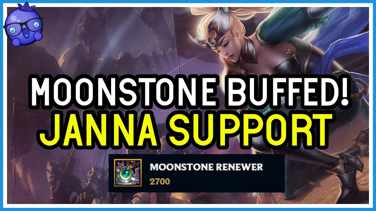 Bizzleberry - Find out if Janna will use the BUFFED Moonstone! - League of Legends