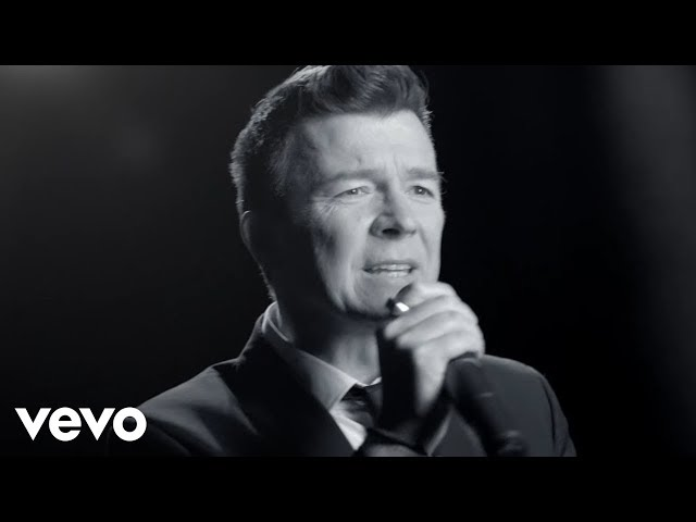 "Vídeo oficial de ""Keep Singing"" de Rick Astley"