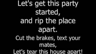 Hadouken! - Get smashed, gate crash lyrics