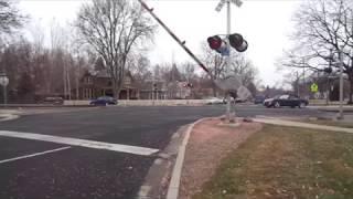 BAD VIDEO!!! The Railroad Crossing Idiots of 2017