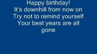 The happy birthday song/ by Arrogant Worms
