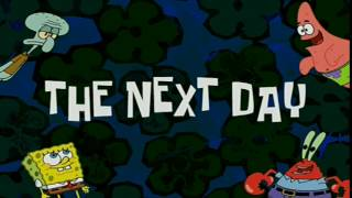 The Next Day | SpongeBob Time Card #27