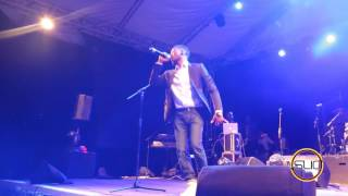 NOLLY PERFORMING AT SINACH'S WAYMAKER TOUR 2017 IN SEYCHELLES