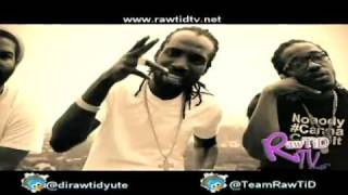 Mavado Ft Chase Cross   Burnin Up /Yes I Am (OFFICIAL 'HD' VIDEO)  www.rawtidtv.net