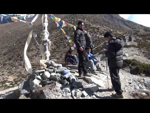 Everest BC Trek – Dingboche to Lobuche.wmv